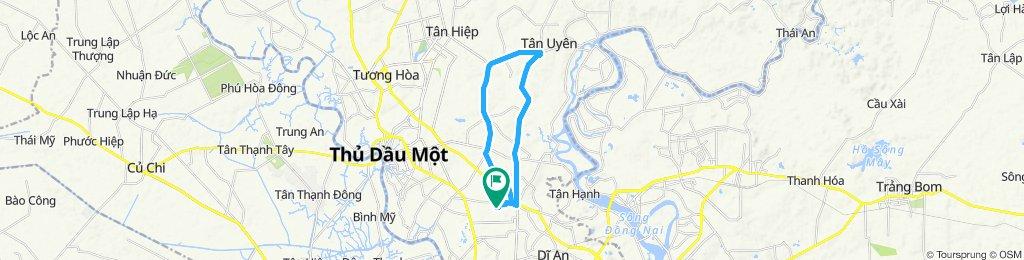 輕鬆騎行 Tân Uyên