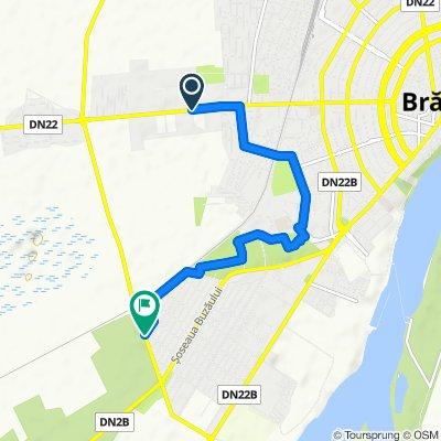 Moderate route in Brăila