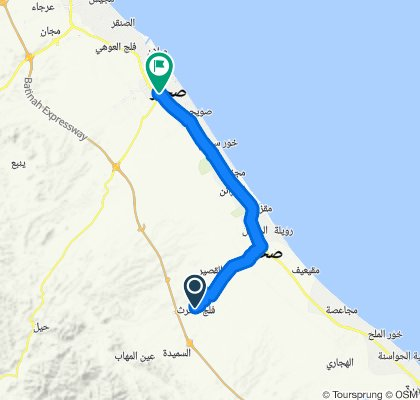 Oman: Falaj Al Harth to Sohar
