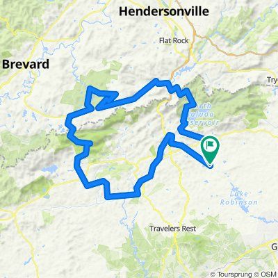 Tigerville, Ceasars Head, Dupont, Watershed