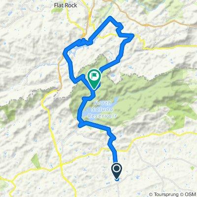 Tigerville, watershed Saluda loop 40 miles