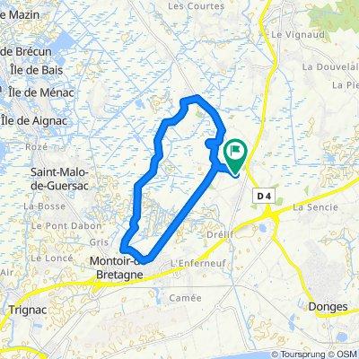 Tour Sud-Est marais de Brière