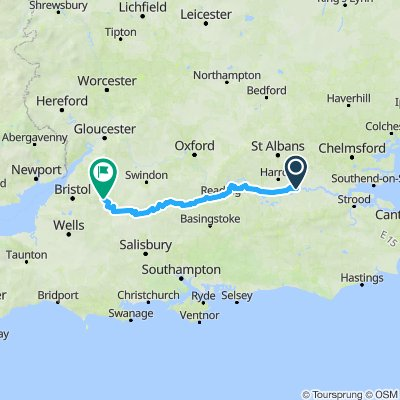 London to Colerne