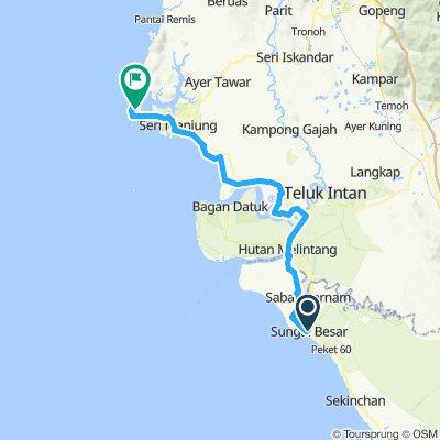 Slow ride in Pulau Pangkor
