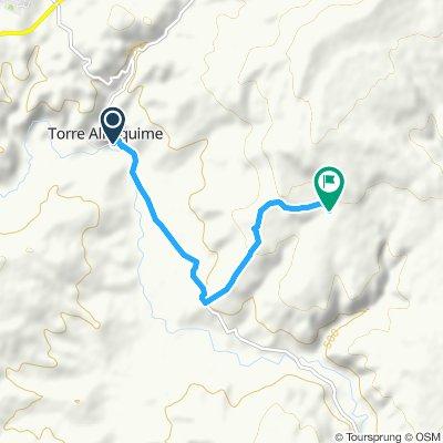 Paseo rápido en Setenil de las Bodegas
