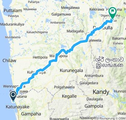 Negombo - Sigiriya