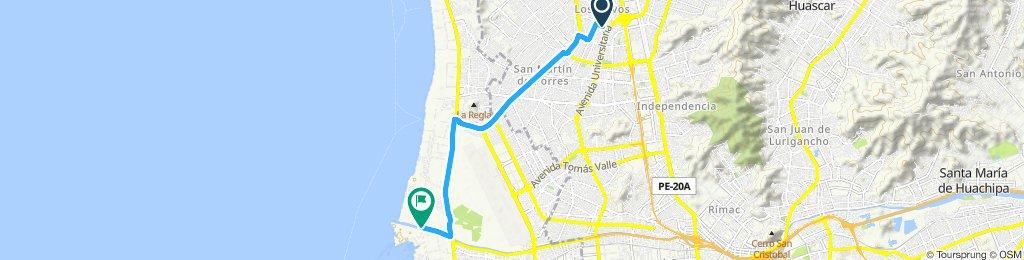 Ruta deportiva en Loya
