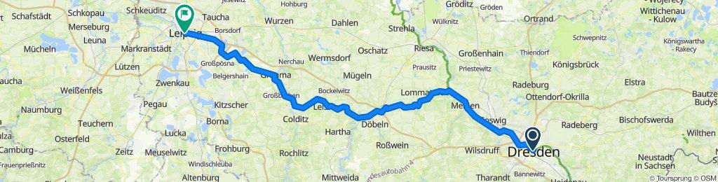 2020.07.11 4. Etappe, Dresden - Leipzig