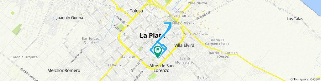 Paseo rápido en La Plata