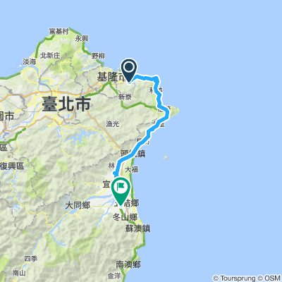 Ruifang to Luodong