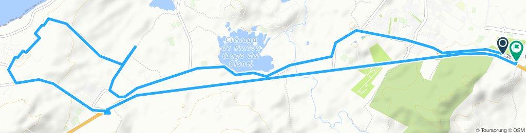 Ruta tranquila en Barranquilla