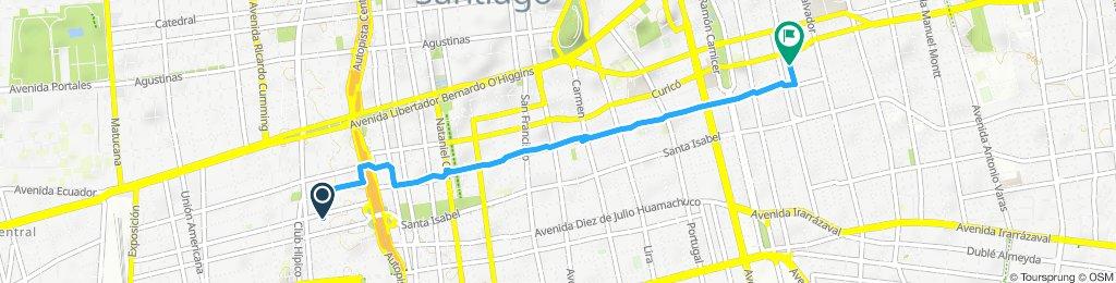 Ruta relajada en Providencia