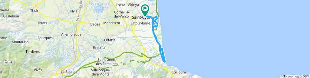 Port Argeles St Cyp A/R deux fois