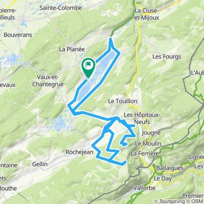 Haut Jura 🇫🇷. Lac Saint-Point-Mont d'Or-Morond