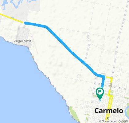 Paseo intenso en Carmelo