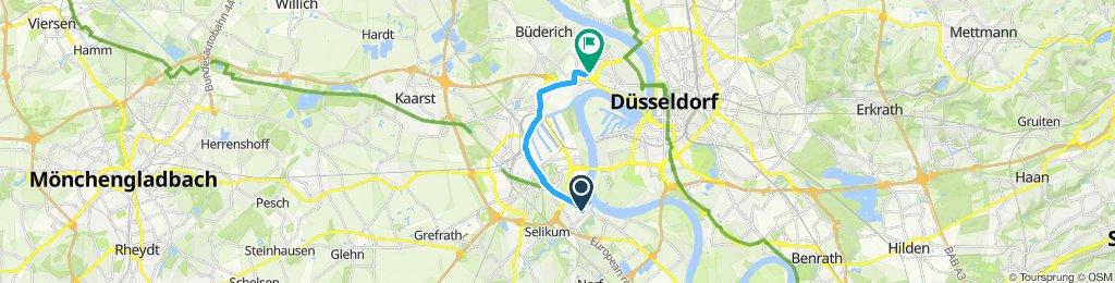 Überschallgeschwindigkeitsfahrt in Düsseldorf