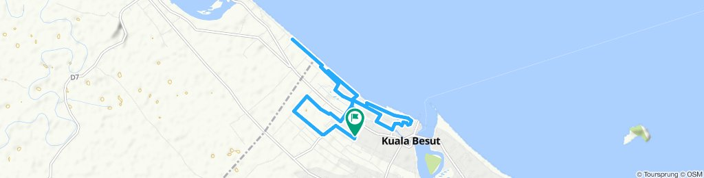 Moderate route in Besut