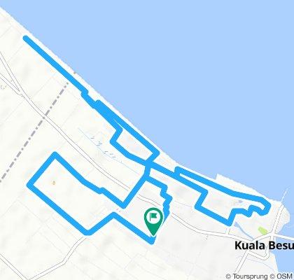 Moderate route in Besut