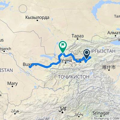 20.10.31 Kirgistan, Süden