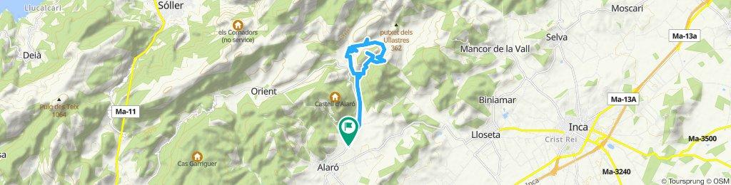 Mallorca a peu: cim i volta al puig de sant Miquel (Alaró)