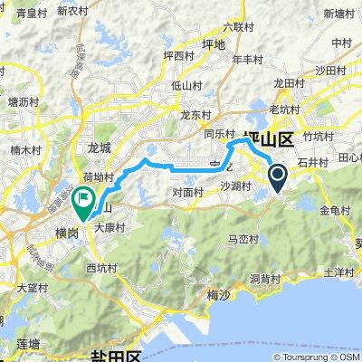 Restful route in Shenzhen