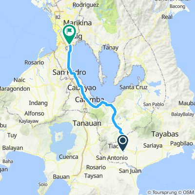 Relaxed route in Taguig