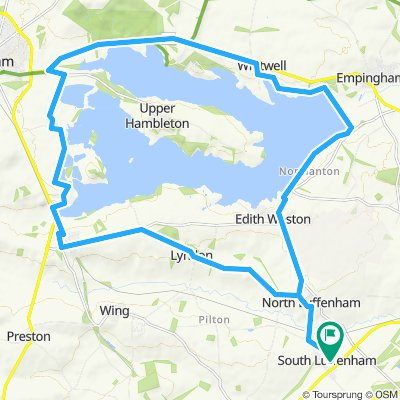 Rutland water from S.Luffenham