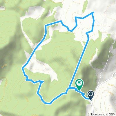 Ruta técnica en el Cerro de la campana