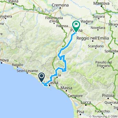 Giro 9. Cinque Terre - Parma