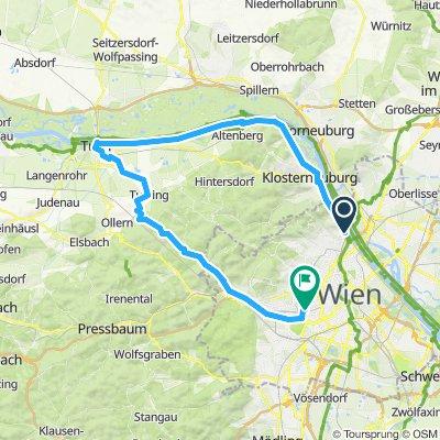 Wienerwald Westwind Route