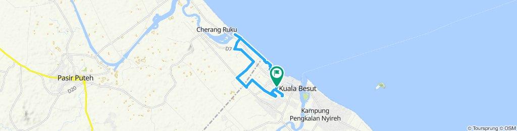 Slow ride in Besut