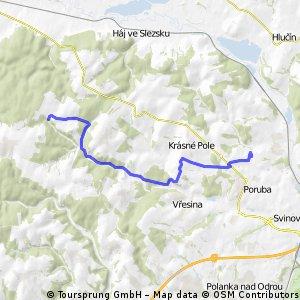 Podroužkova (Ostrava) - Budišovice