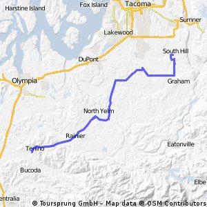 South Hill to Tennio