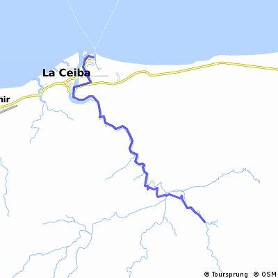 2010-04-24 La Ceiba to Yaruca