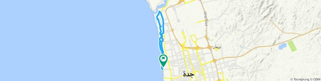 Steady ride in Jeddah day 2