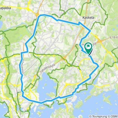 U40 Kalasatama-Pakila-Vantaa
