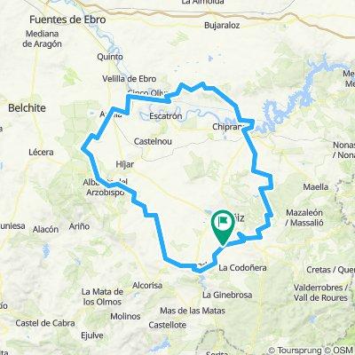 Etapa 2 Castelseras-Castelseras