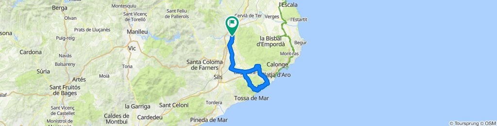 Girona - Costa Brava. Road Cycling Catalonia