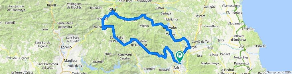 Girona Gran Fondo. Road cycling Catalonia