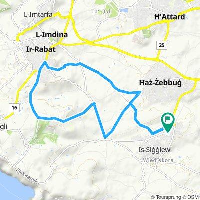 Easy ride in Siggiewi