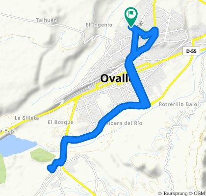 Ruta tranquila en Ovalle