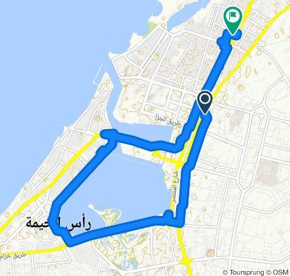 Steady ride in Ras Al-Khaimah
