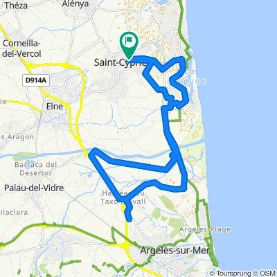 Argelès-sur-Mer commerces en trike