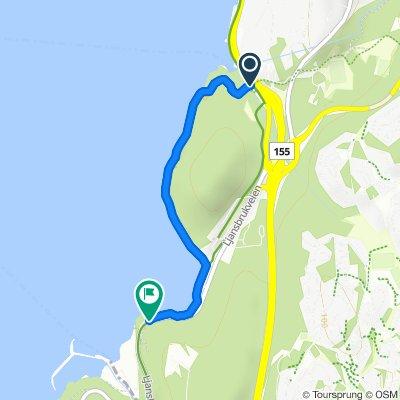 Grønne Sykkelruter, Oslo: Fiskevollbukta – Ljanskollen – Hvervenbukta