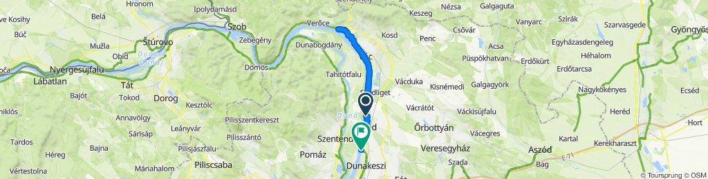 Easy ride in Dunakeszi