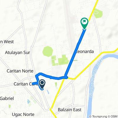 Moderate route in Tuguegarao City