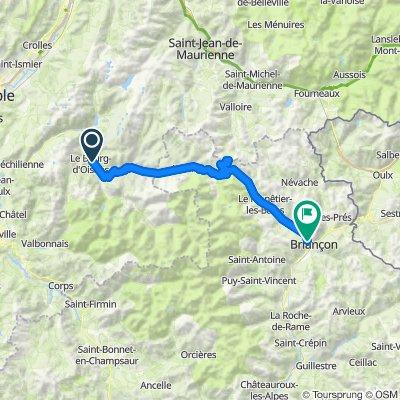 Bourg d'Oisans, Galiblier, Briançon