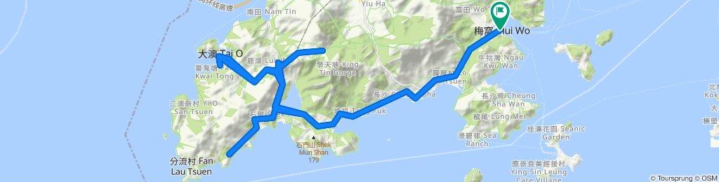 Lantau 70 support route