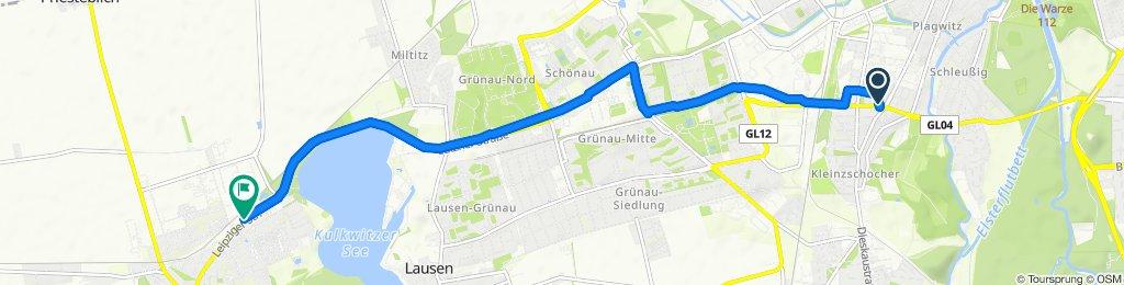 Entspannende Route in Markranstädt
