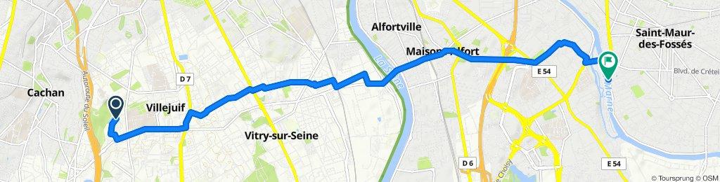 Itinéraire modéré en Saint-Maur-des-Fossés